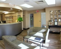 entrance at johnson dental